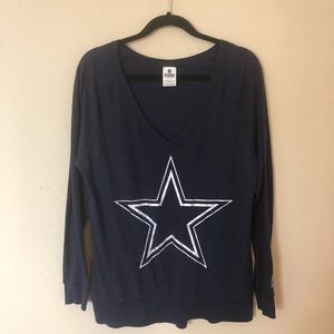 Pink Victoria Secret Dallas Cowboys Long Sleeve